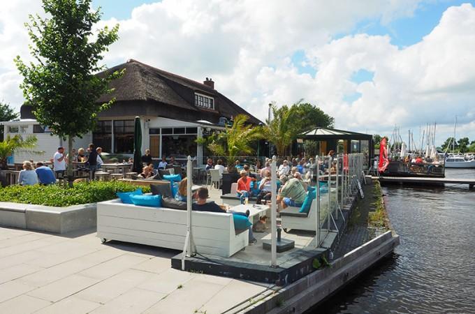 Top Terrassen Friesland Holland